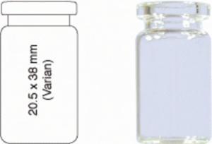 Crimp neck vials, N 20