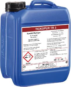 Cleaning agents for use in ultrasonic baths, TICKOPUR TR3