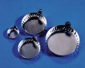 Disposable weighing dishes with tabs