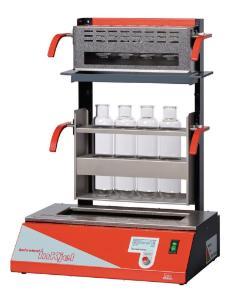 Infrared rapid digestion devices (programmable) for nitrogen determination according to Kjeldahl, behrotest® InKjel