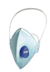 Disposable particle filtering respirators, FFP1/FFP2/FFP3, X-plore® 1700