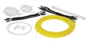 Tubing kit for aromatic organic solvents