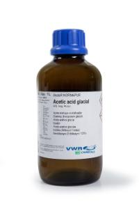 Acetic acid glacial 99.8-100.5%, AnalaR® NORMAPUR® ACS, Reag. Ph. Eur. analytical reagent