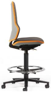 Production and laboratory chairs, with permanent contact backrest, Neon 2