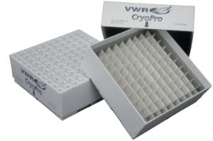 Cryoboxes for ultra-low temperature freezers, Revco